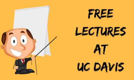 Free Lectures at UC Davis