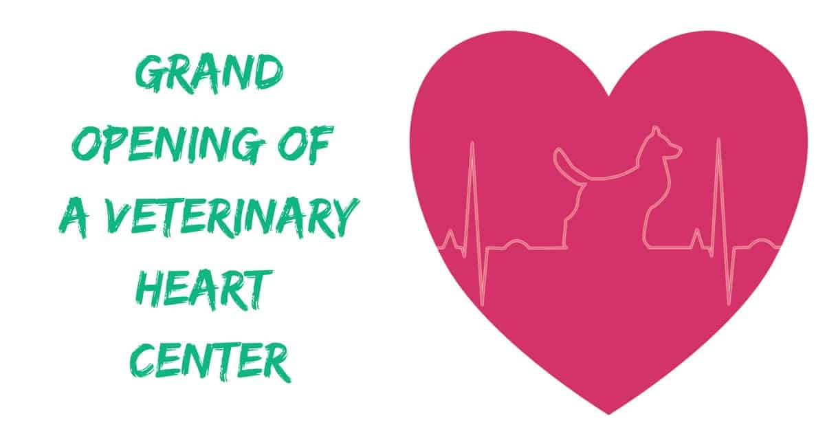 Grand Opening of a Veterinary Heart Center