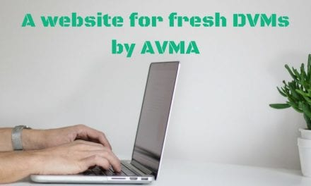 A website for fresh DVMs by AVMA