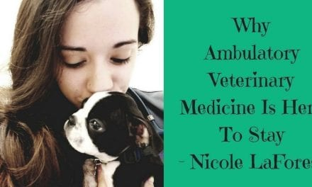 Why Ambulatory Veterinary Medicine Is Here To Stay