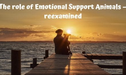 The role of Emotional Support Animals – reexamined
