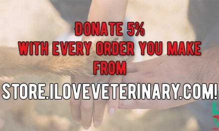 Donate 5% with every order you make from I Love Veterinary Store!