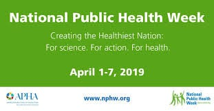 National Public Health Week 2019