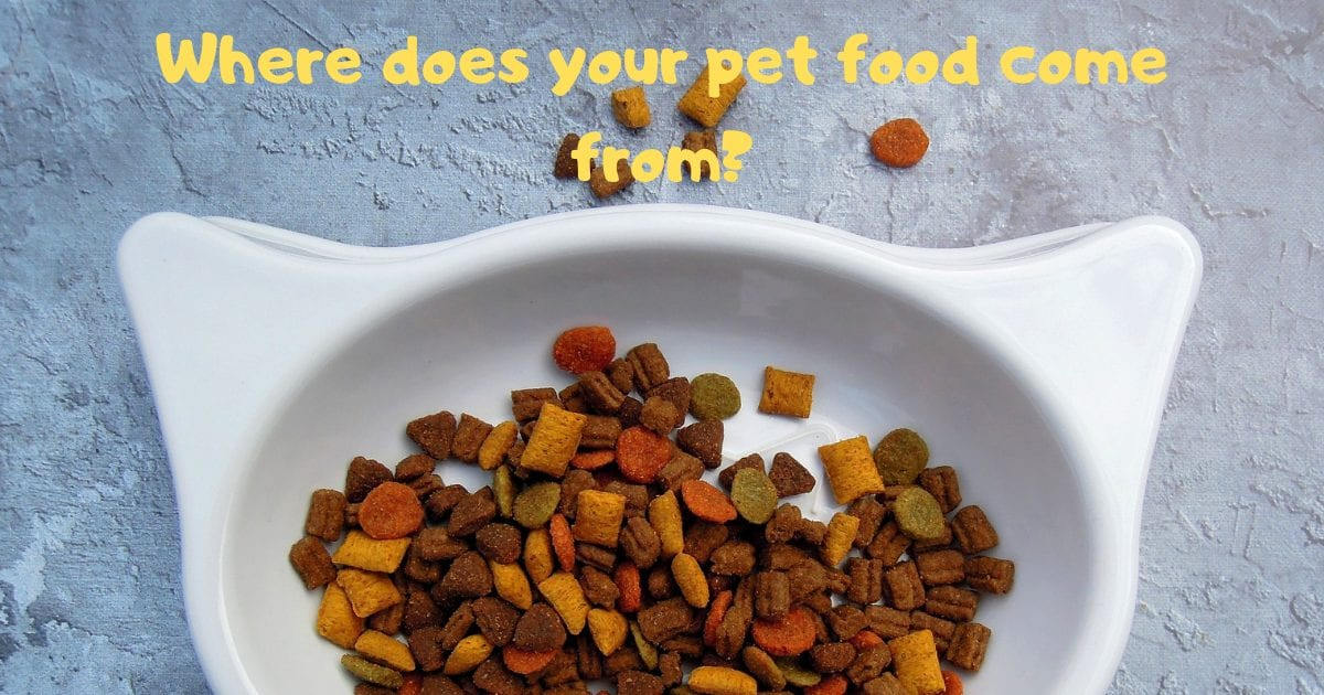 Where does your pet food come from?