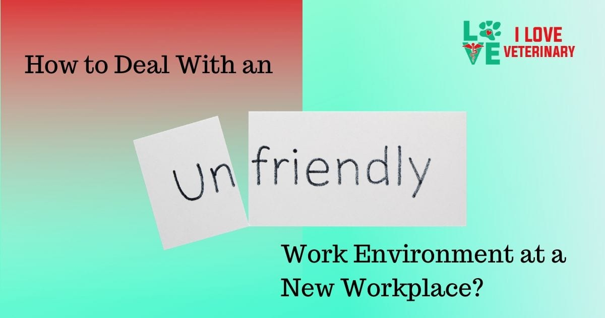 How to Deal With an Unfriendly Work Environment at a New Workplace?