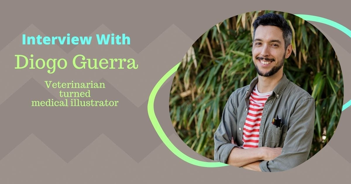 Interview With Diogo Guerra – Veterinarian-turned-medical illustrator