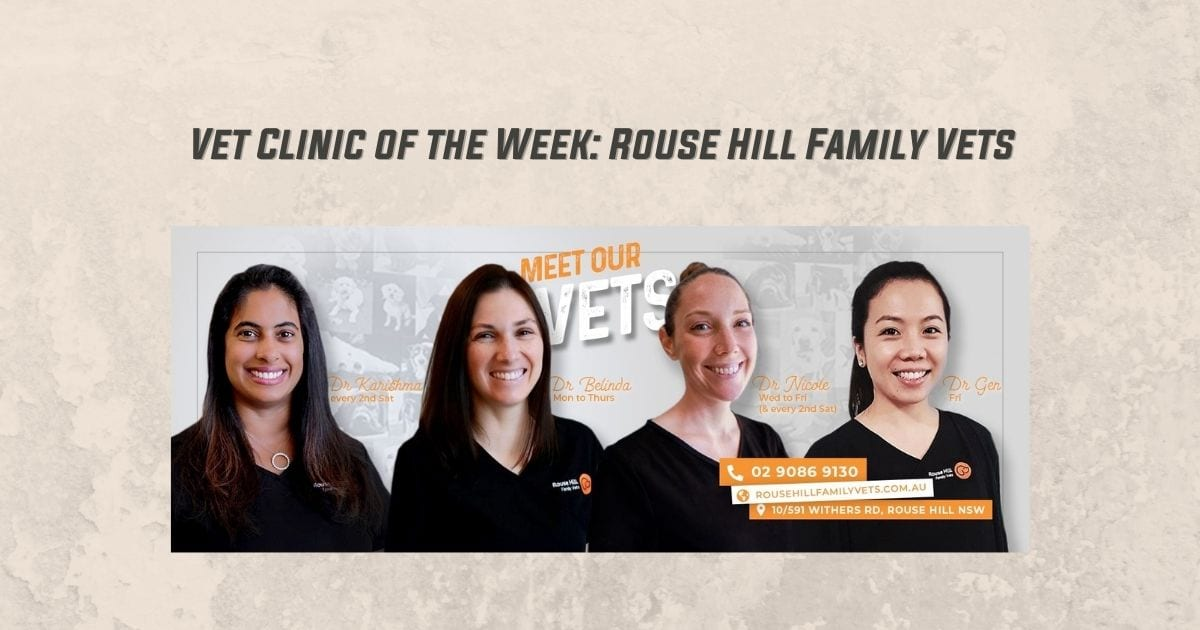 Vet Clinic of the Week: Rouse Hill Family Vets